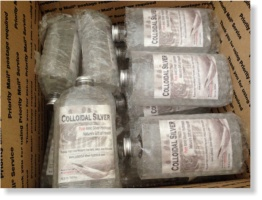 wholesale colloidal silver in priority mail box