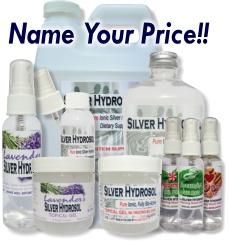 Free Colloidal Silver Hydrosol